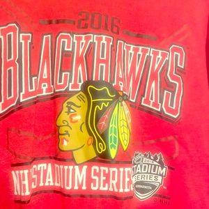 2016 Chicago Blackhawk long sleeve T-shirt!